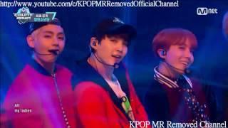 [MR Removed] 161013 BTS (방탄소년단) - 21st Century Girls [MR제거] [Comeback Stage M COUNTDOWN]