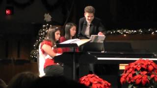 Jessy's Senior Christmas Recital - Praise the Lord!
