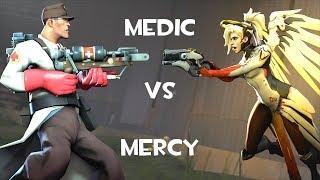 Medic VS Mercy [SFM]