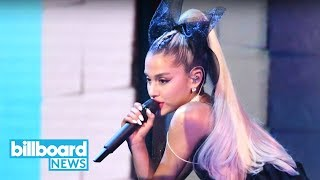 Ariana Grande Opens 2018 BBMAs With Fiery 'No Tears Left to Cry' Performance | Billboard News