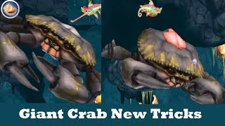 Giant Crab New Tricks (New Update) - Hungry Shark Evolution