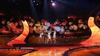 Eurovision 2008 Semi Final 1 12 Andorra *Gisela* *Casanova 16:9