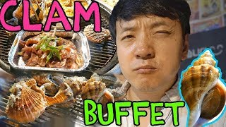 All You Can Eat Korean CLAM Buffet! width=