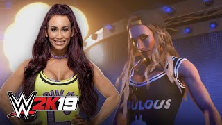 Carmella attempts Undertaker's entrance in WWE 2K19