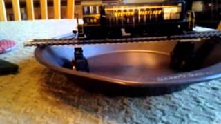 HO Trains Scratch Built Turntable Part 1