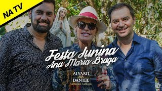 Alvaro e Daniel - Festa Junina Ana Maria Braga