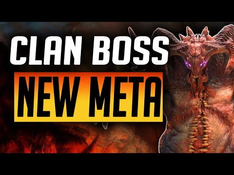 NO UNKILLABLE OR COUNTERATTACK! ULTRA NIGHTMARE CLAN BOSS! | Raid: Shadow Legends