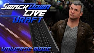 WWE 2K17 Universe Mode - Smackdown Live Draft Picks #1