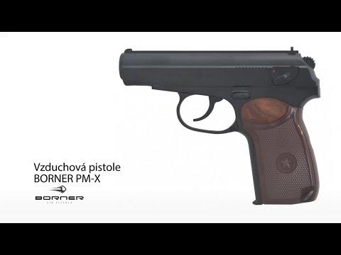 Vzduchová pistole Brorner PM-X