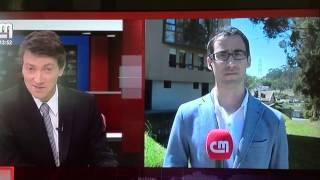 [ CM TV ] - Jornalista e os telespectadores