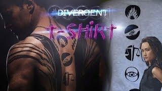 DIY Divergent T-Shirt