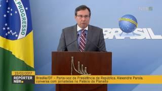 Presidente Temer recebe com satisfação a aprovação de Alexandre de Moraes para o STF