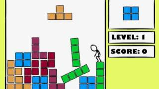 Tetris Vs Stickman