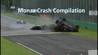 Monza Crash Compilation