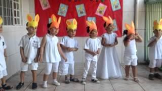 """""""Coelhinhos Pintadinhos"""" da Escola Bem-me-Quer"""