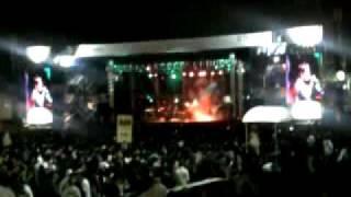 """skank no festival de inverno de conquista 2009 """"pacato cidadão"""""""