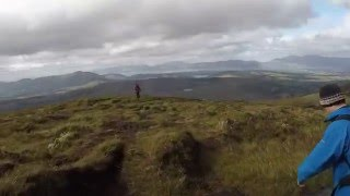 Hiking to the Top of Ireland (Carrauntoohil 1038m - 2015-09-26)