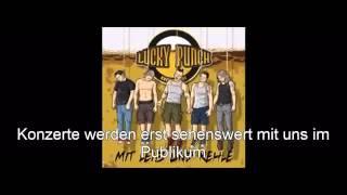 Lucky Punch Reisegruppe Unbequem Mit Leib und Kehle Kneipencore