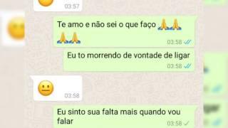 Vontade de Ligar Conversas de WhatsApp - Thiago e Junior