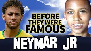 NEYMAR JR | Before They Were Famous | Team Brazil FIFA World Cup 2018 width=