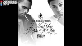 Chris Brown ft. Diggy - I Need You (Make It Last)