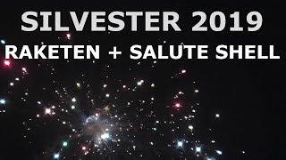 FETTE RAKETEN BALLERN AN SILVESTER + SALUTE SHELL