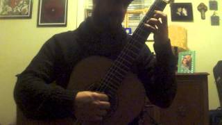 Lute Suite in E minor BWV 996 Gigue Bach