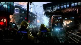 Sci Fi city sound effect 1 - Upper city