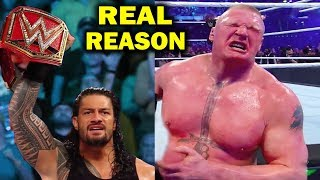 Real Reasons Why Brock Lesnar Lost Universal Title to Roman Reigns at WWE SummerSlam 2018