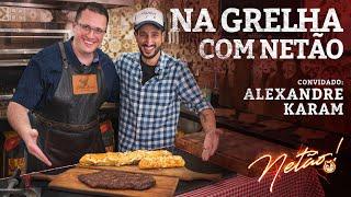 Fraldinha Wagyu e Pão de alho 3 queijos! – Na Grelha com Netão! Feat ALEXANDRE | Netão! Bom Beef #75
