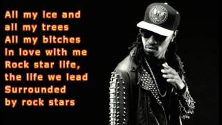Future-Rockstar Feat  Nicki Minaj lyrics video