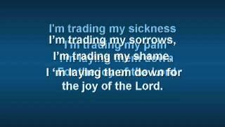 I'm Trading My Sorrows  with  Lyrics