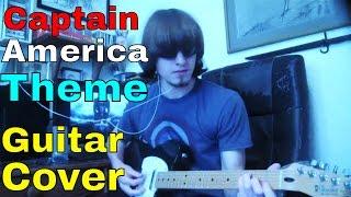 Captain America Theme: Guitar Cover