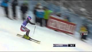 Kasper Levi Slalom Run 1 - USSA Network