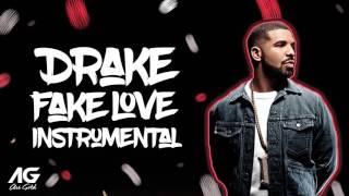 Drake - Fake Love Instrumental