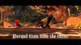 Brave - Into the Open Air (Brazilian Portuguese) *Lyrics* HD