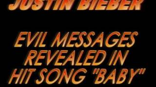 Justin Bieber ILLUMINATI Baby EVIL MESSAGES REVEALED