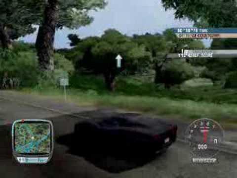Prezentacja kilku pojazdów z gry Test Drive Unlimited