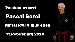 Demonstration 8: sensei Pascal Serei Nintai Ryu Aiki ju jutsu