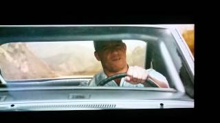 Fast and the Furious 7 ending scene . For Paul .