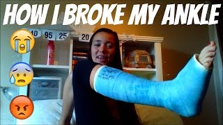 How I Broke My Ankle