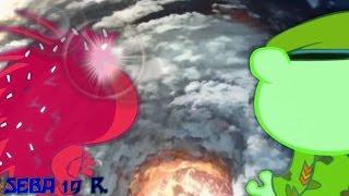 """Happy tree friends [WARRIORS] """"FLIPPY VS FLAKY"""" [[AMV] FULL HD"""