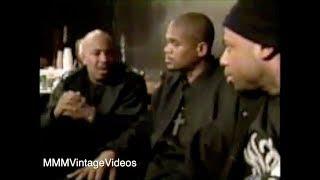 Run-DMC on New School Rappers 1993 Interview Rap City!