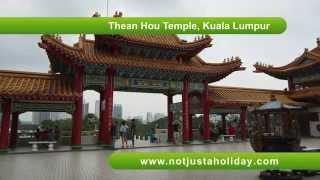 Thean Hou Temple, Kuala Lumpur - Fortune Telling Sticks