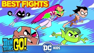 Teen Titans Go! | Top Fights | DC Kids
