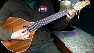 Greensleeves and Misty on Brauchli archtop cittern guitar