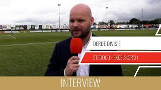 "Screenshot van video Jurjan Wouda: ""Een punt is prima"" | SteDoCo - Excelsior'31"