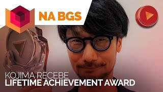 Kojima eternizando sua presença na Wall of Fame da [BGS 2017]