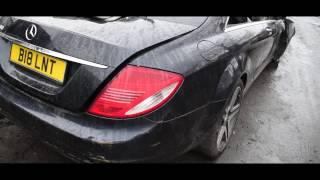Трейлер!!! Mercedes w126 500sec