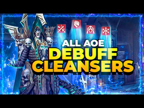 RAID Shadow Legends | ALL AoE Cleansers! | Build Strong Teams!